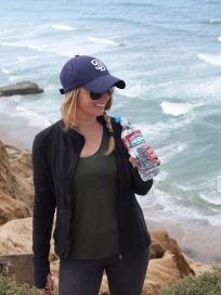 Whitney Bond at Torrey Pines State Beach in San Diego