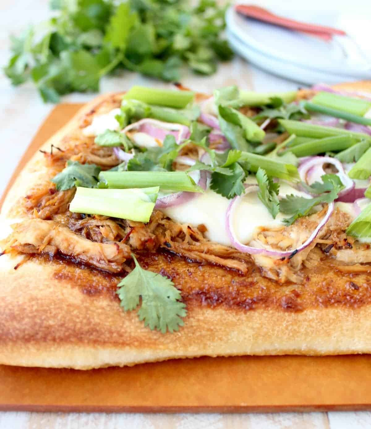 Korean bbq chicken pizza recipe whitneybond forumfinder Image collections