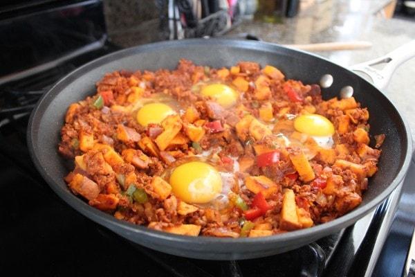 Mexican Sweet Potato Hash Recipe