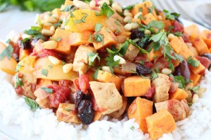 Moroccan Chicken and Peaches Recipe
