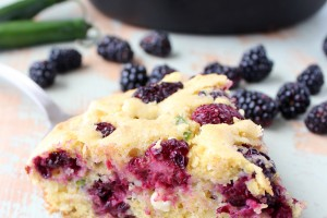 Blackberry Serrano Cornbread Recipe