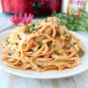 Crock Pot Buffalo Chicken Alfredo