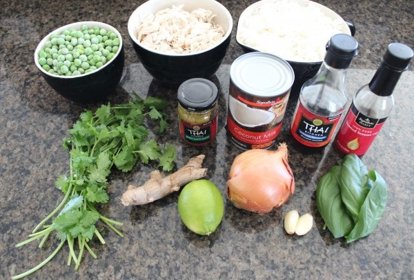 Green Curry Chicken Fried Rice Recipe Ingredients