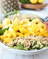 Pineapple Mango Kale Salad Recipe