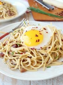 One Pot Pasta Carbonara Recipe