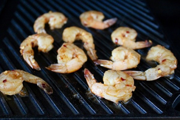 Grilled Chili Lime Shrimp