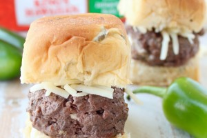 Jalapeno Popper Sliders Recipe