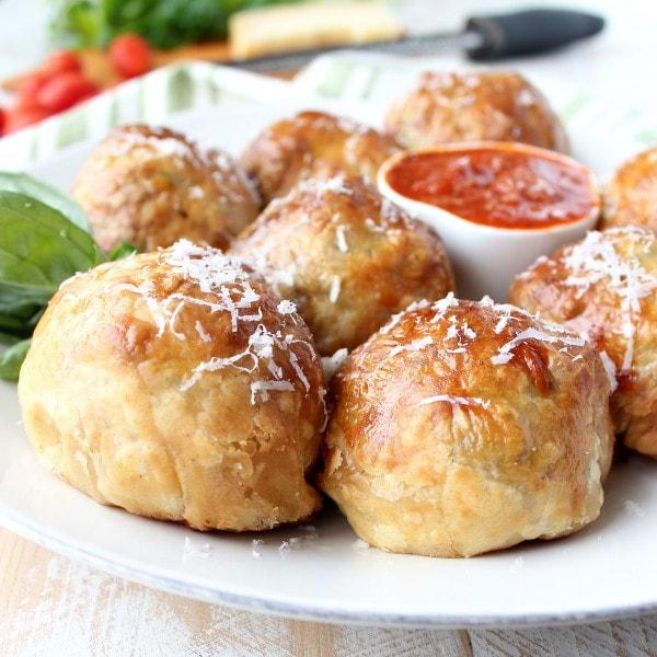 Mozzarella Stuffed Meatball Recipe