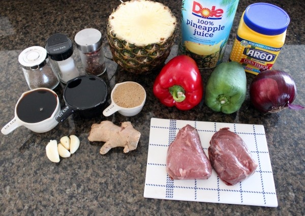 Teriyaki Pineapple Shish Kabob Recipe Ingredients