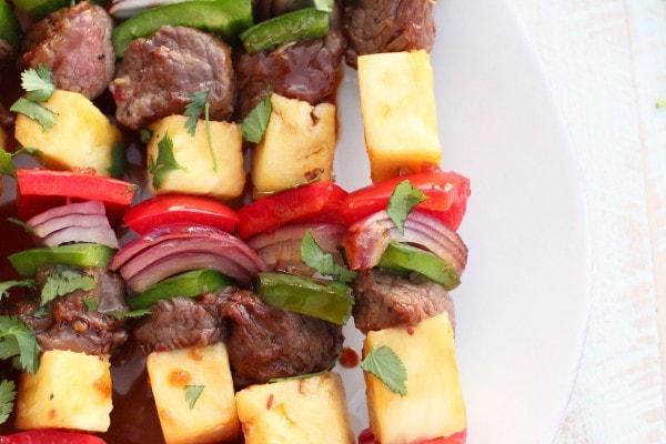 Teriyaki Steak Shish Kabob Recipe