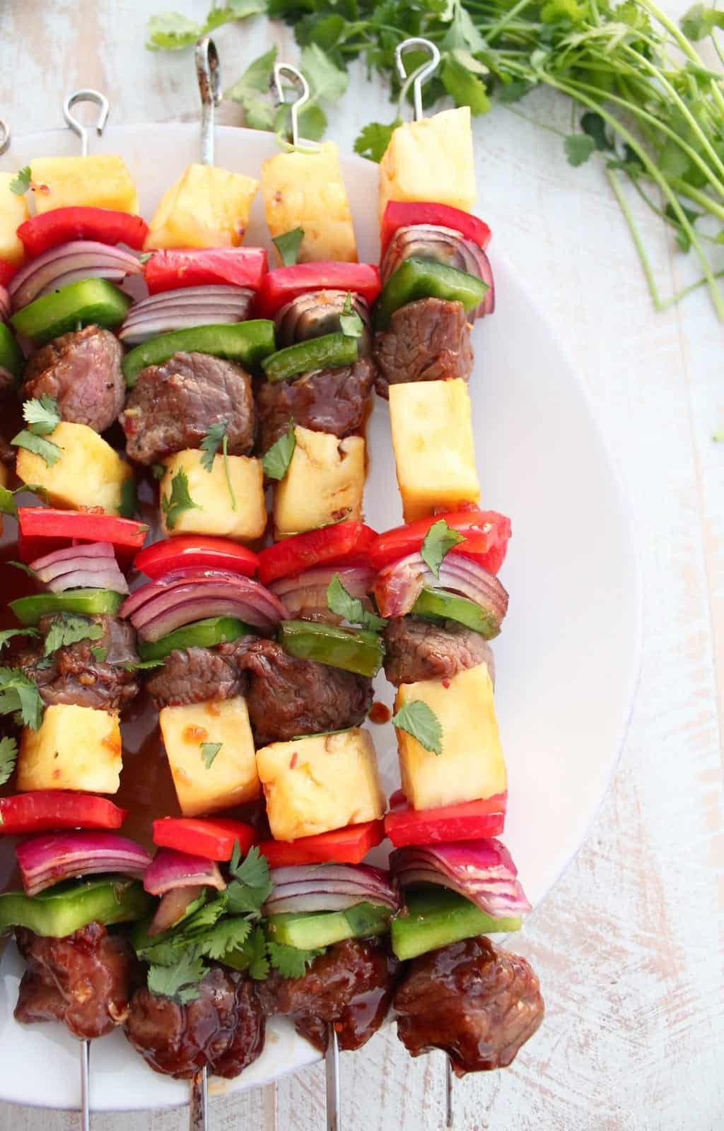 Teriyaki Steak Shish Kabob Recipe Whitneybond Com