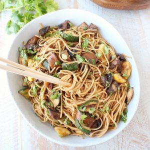 Grilled Vegetable Lo Mein