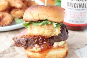 Hawaiian Surf and Turf Sliders
