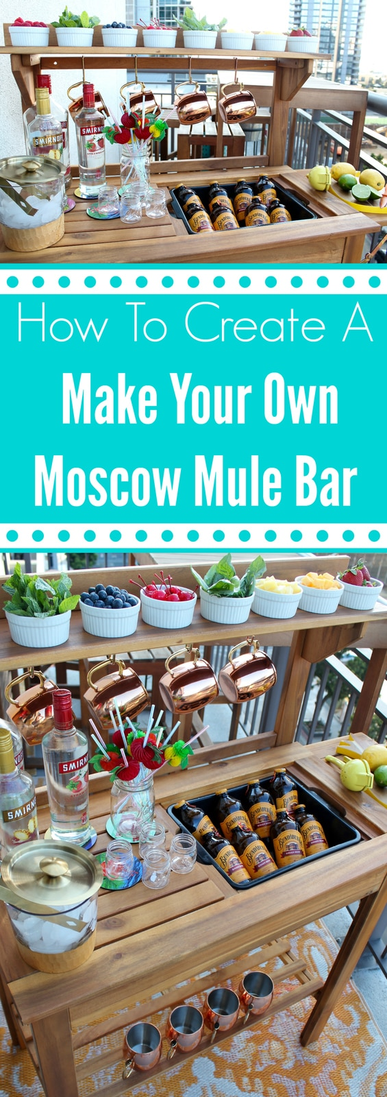 How To Create A Make Your Own Moscow Mule Bar