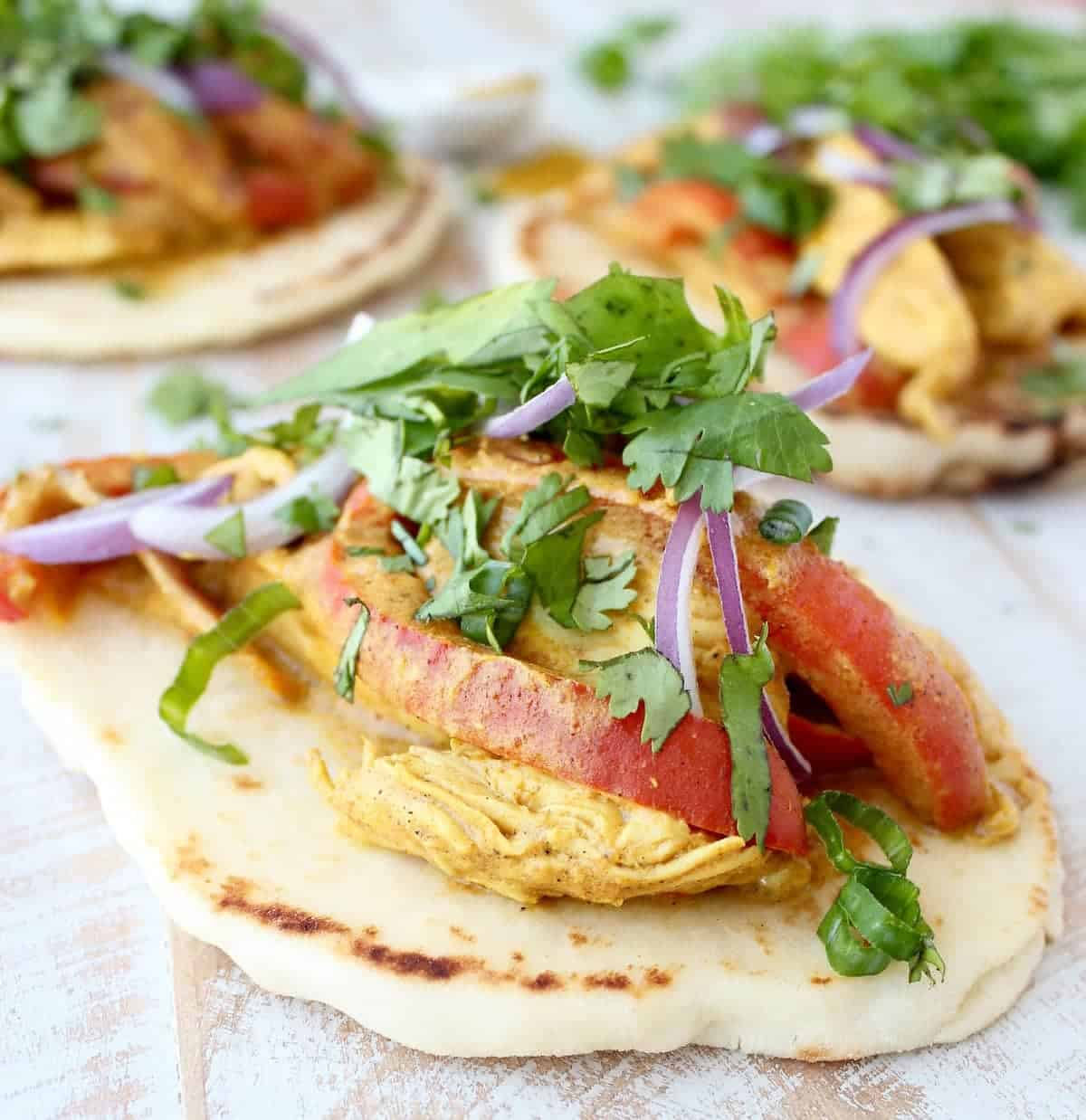 Indian curry chicken tacos recipe whitneybond forumfinder Image collections