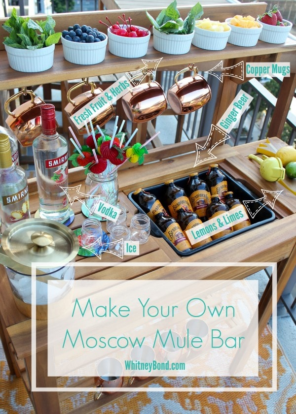 Make Your Own Moscow Mule Bar