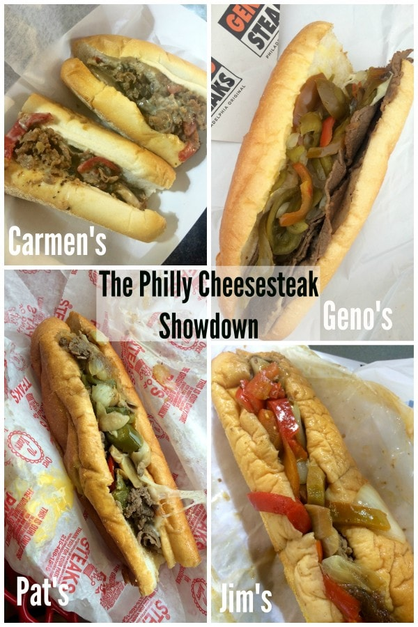 Philly Cheesesteak Showdown