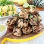 Jerk Chicken & Pork Meatball Recipe
