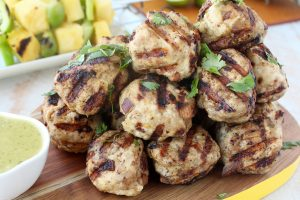Jerk Chicken & Pork Meatball Recipe