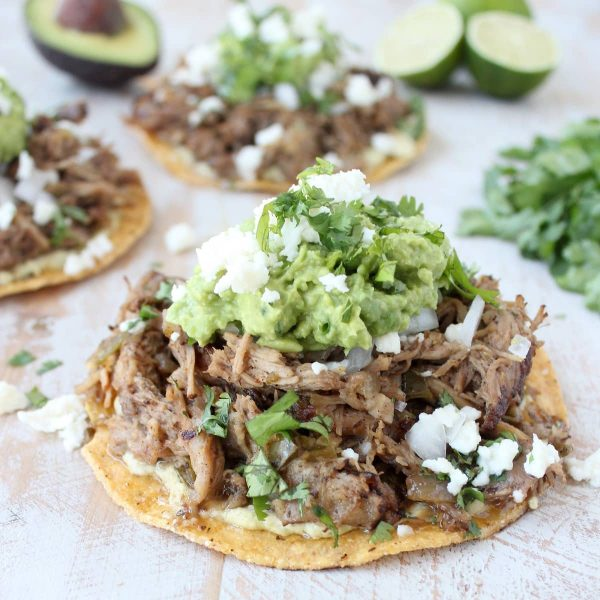... things up and serve this slow cooked carnitas on top of a tostada