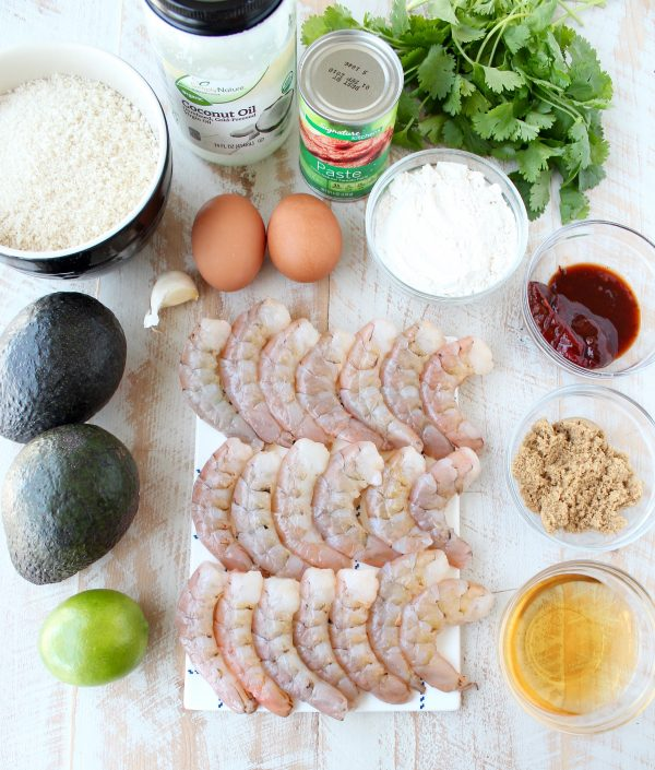 Crispy Shrimp Taco Recipe Ingredients