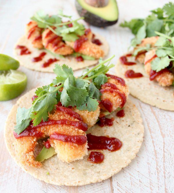 15 Minute Crispy Shrimp Tacos
