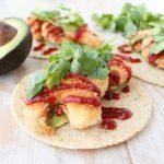 Crispy Shrimp Tacos with Chipotle BBQ Sauce