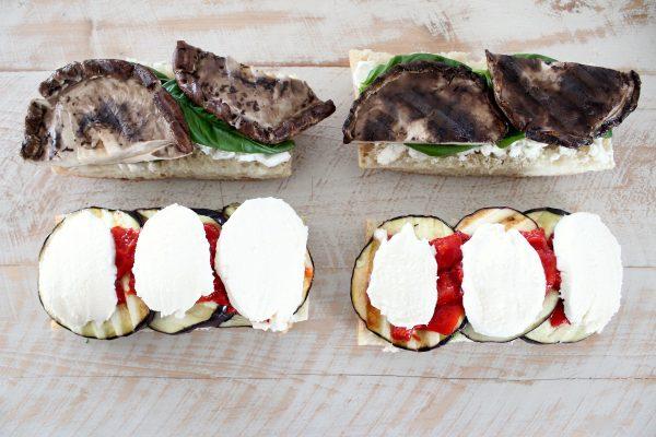 Grilled Vegetarian Italian Panini Recipe