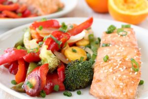 Chinese Orange Glazed Salmon Recipe