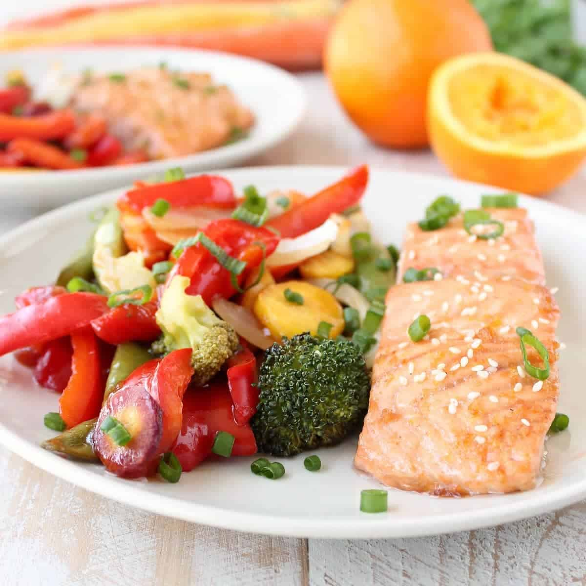 Cinnamon Chipotle Salmon · Chinese Orange Glazed Salmon Foil Dinner