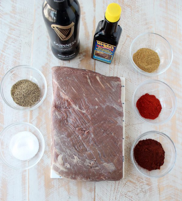 Smoked Chipotle Brisket Tacos Ingredients