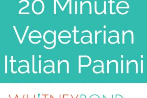 Grilled Vegetable Italian Panini Recipe