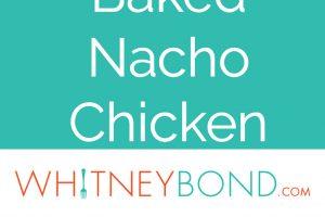 Baked Nacho Chicken Recipe