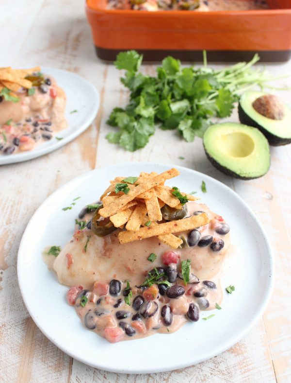 Baked Nacho Chicken Recipe