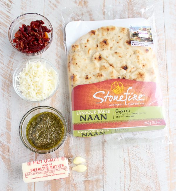 Naan Pizza Roll Recipe