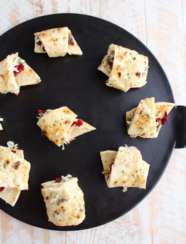 Naan Pizza Rolls Recipe