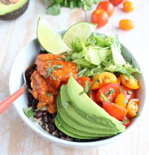 Salmon Taco Rice Bowl Recipe