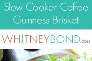 Slow Cooker Coffee Guinness Brisket Sandwich