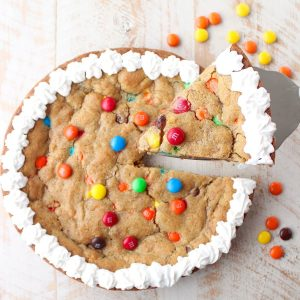 The Ultimate Candy Cookie Cake