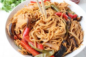 Easy Chicken Lo Mein Recipe