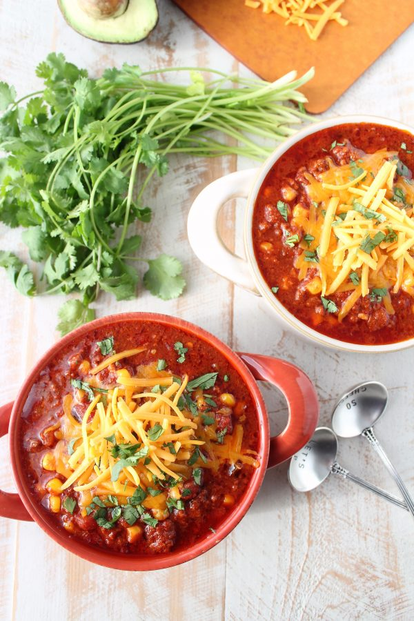 Slow Cooker Chorizo Corn Chili Recipe