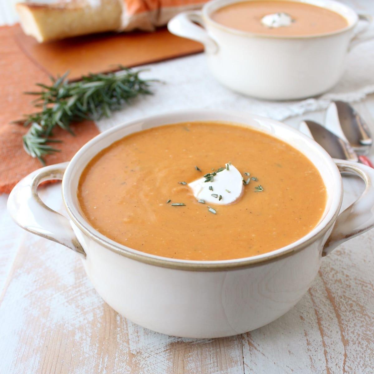 30 Minute Sweet Potato Soup