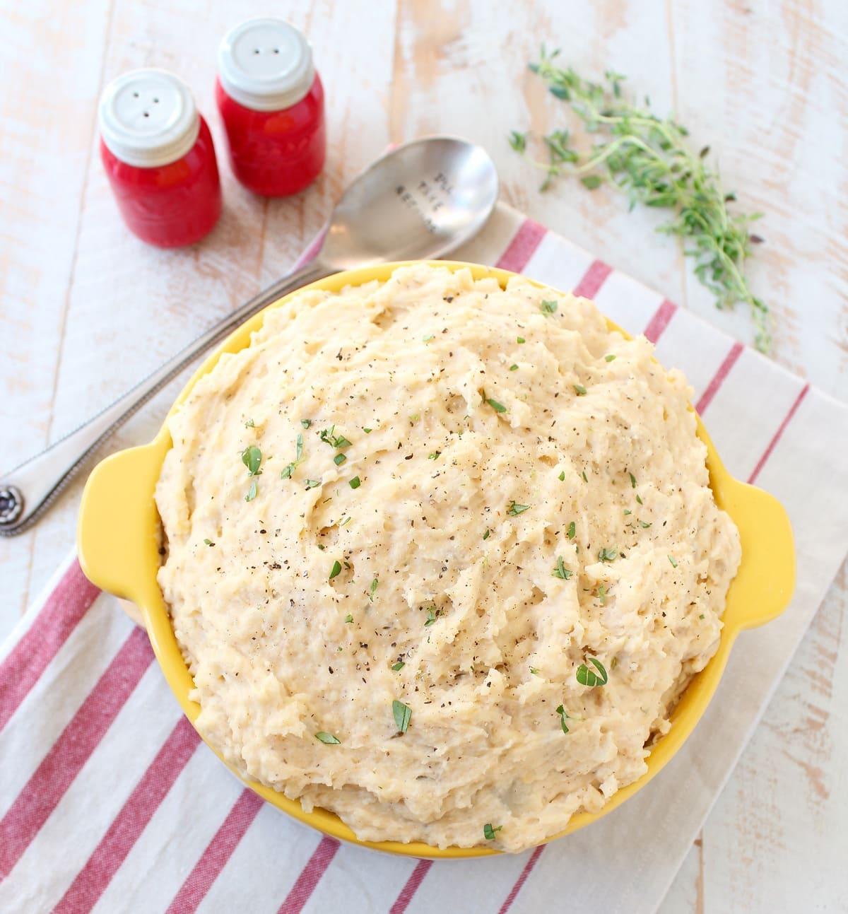 how to make mashed potatoes recipe