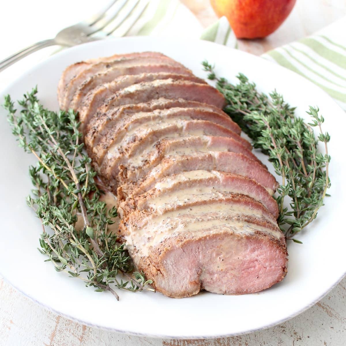 Chipotle Apple Pork Loin