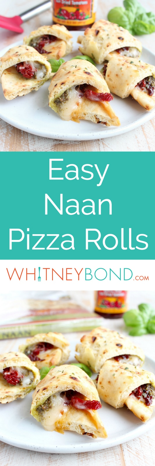 easy garlic naan pizza with roasted peppers and cheese quick and easy ...
