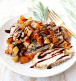 Butternut Squash Apple Bruschetta Chicken