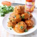 Honey Mustard Buffalo Meatballs
