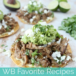 WB Favorite Recipes