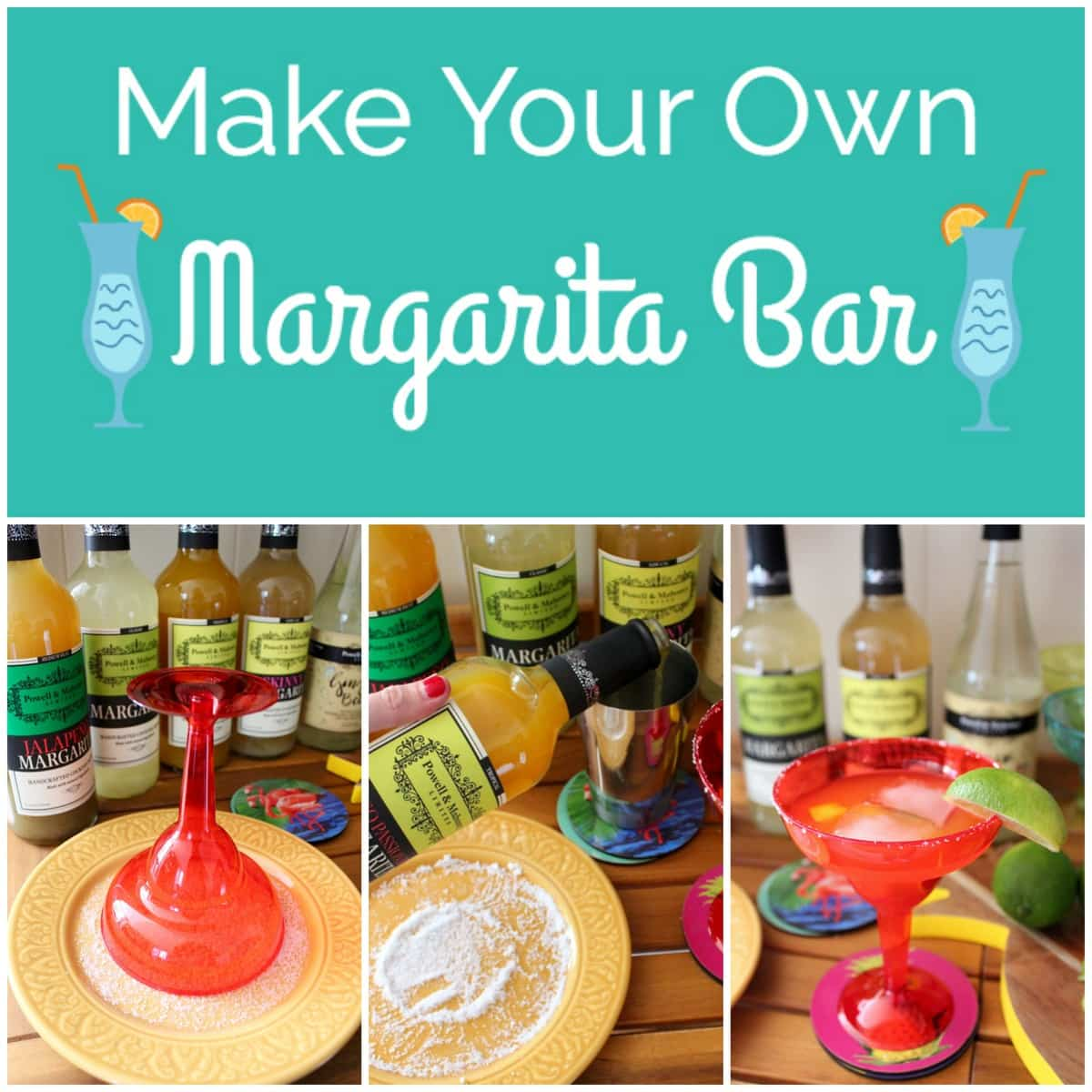 Make Your Own Margarita Bar Whitneybond Com