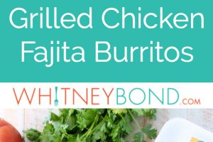 If you love Chipotle burritos, then you're really going to love these grilled burritos, filled with fajita grilled chicken, veggies & cilantro lime rice!